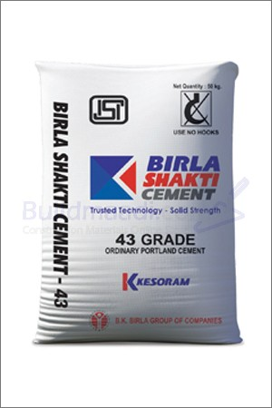 Buy Birla shakthi 43 Grade cement
