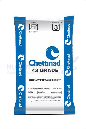 Buy Chettinad 43 Grade Cement
