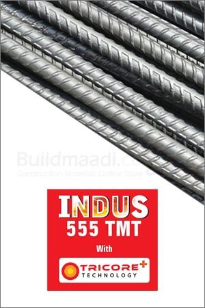 Indus Fe 555 Grade TMT Steel