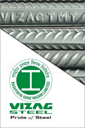 Vizag Fe 500 Grade TMT Steel