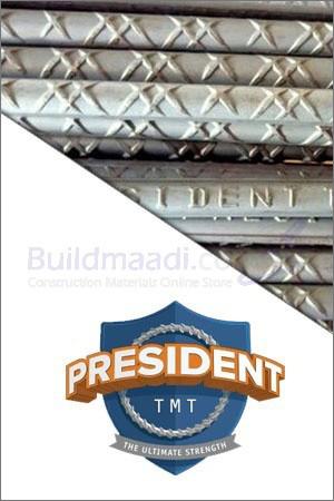 Buy President TMT steel